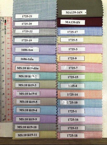 Cách chọn bảng màu vải Kate Ford