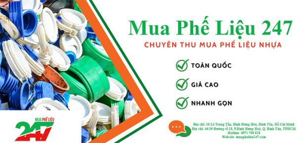 Thu mua phế liệu nhựa giá cao tại Quận Bình Thạnh